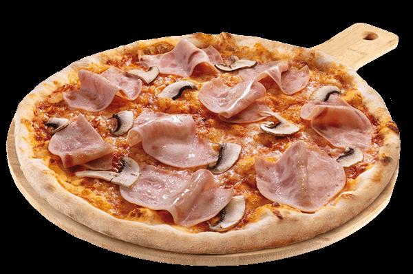 Pizza prosciuttto e funghi